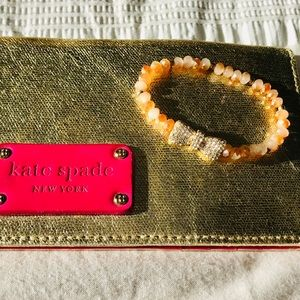Jewelry - Cute Crystal Stretchy Bracelet with Bow